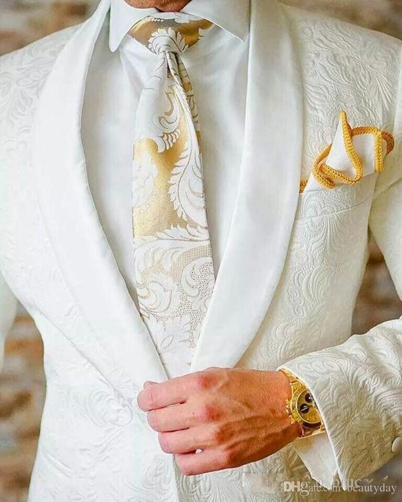 2019 Paisley do vintage de Lã Espinha de Peixe estilo Britânico custom made Mens terno slim fit Blazer ternos de casamento para homens (terno + calça