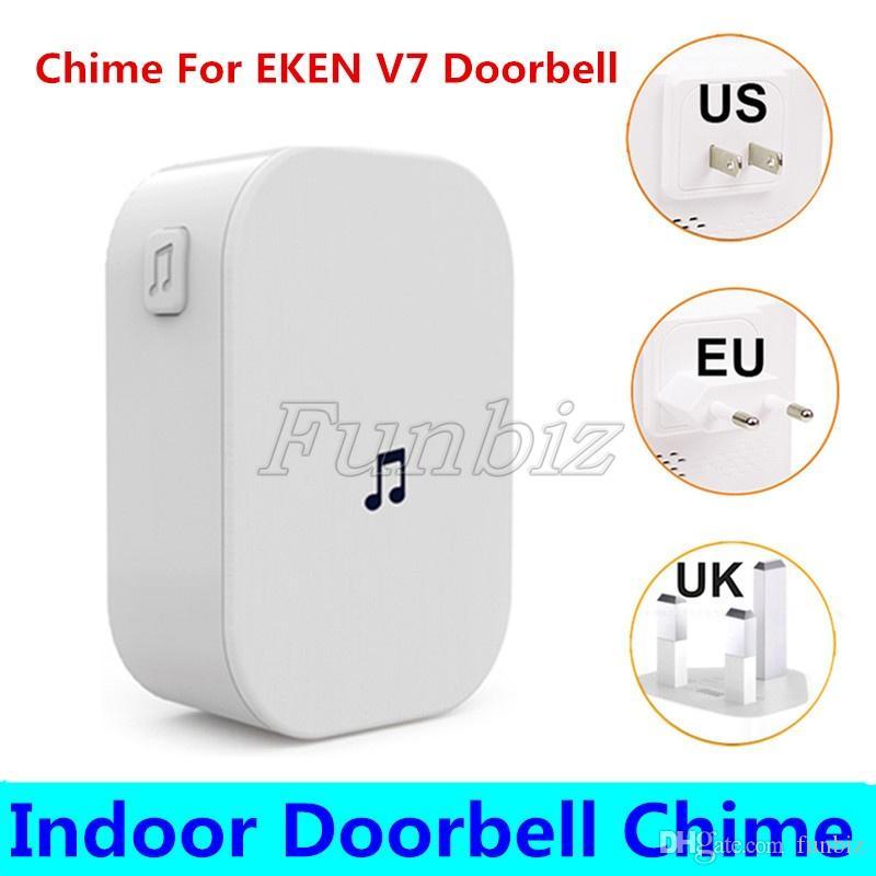 EKEN Wireless Doorbell Indoor Chime For EKEN V7 Wifi Doorbell Receiver Ding Dong Indoor doorbell Chimes
