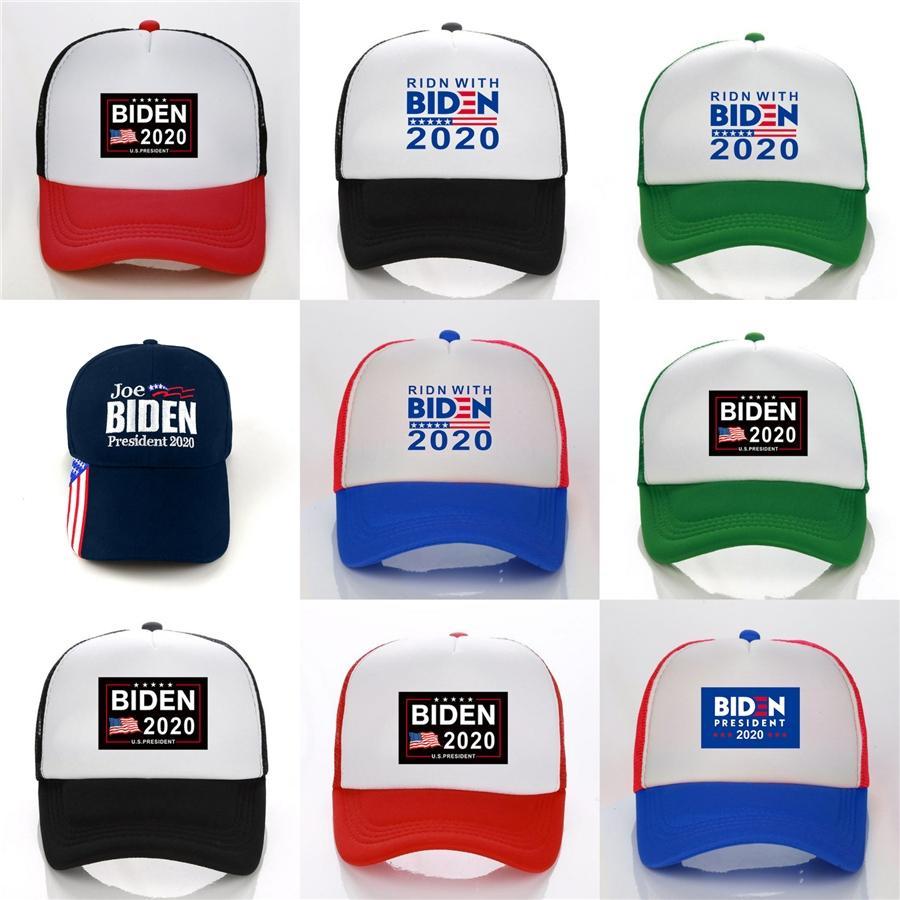 Ücretsiz Nokta Bize Biden Cumhurbaşkanlığı Kampanyası Şapka Donald Biden2020 Kamuflaj Beyzbol Şapka # 952 Sağlıyor