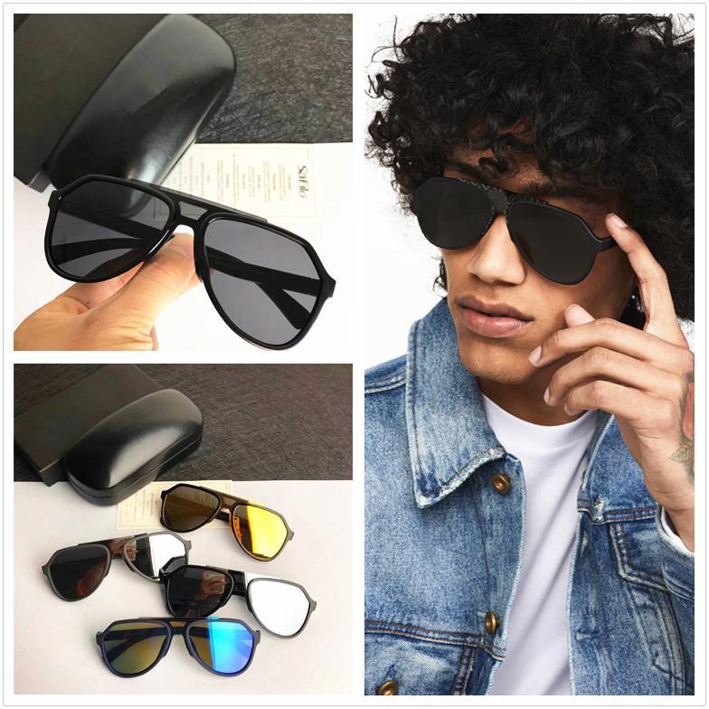 موضة جديدة مصمم العلامة التجارية الفاخرة خفيفة النظارات الشمسية الرجال النساء نظارات الشمس المستقطبة الكلاسيكية أعلى جودة النظارات الشمسية رجل نظارات شمس 6128