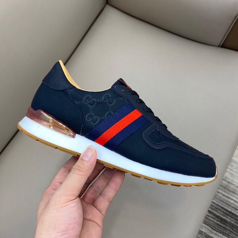 High-end brand casual shoes, men's and women's flats, top layer cowhide making, super sneaker, fashion board shoes RD697