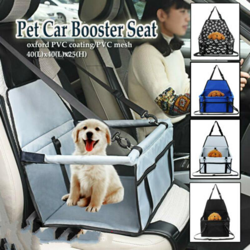 الحيوانات الأليفة السلامة للماء Faltbar صندوق أكسفورد القماش الكلب سيارة ماتس الأرجوحة حامي خلفي المقعد الخلفي الغلاف