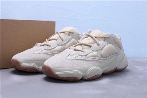 2019 500 5 11 Nave de la gota New Stone Correr para mujer para hombre Kanye West diseñador de calzado deportivo zapatillas de deporte al aire libre nosotros.-