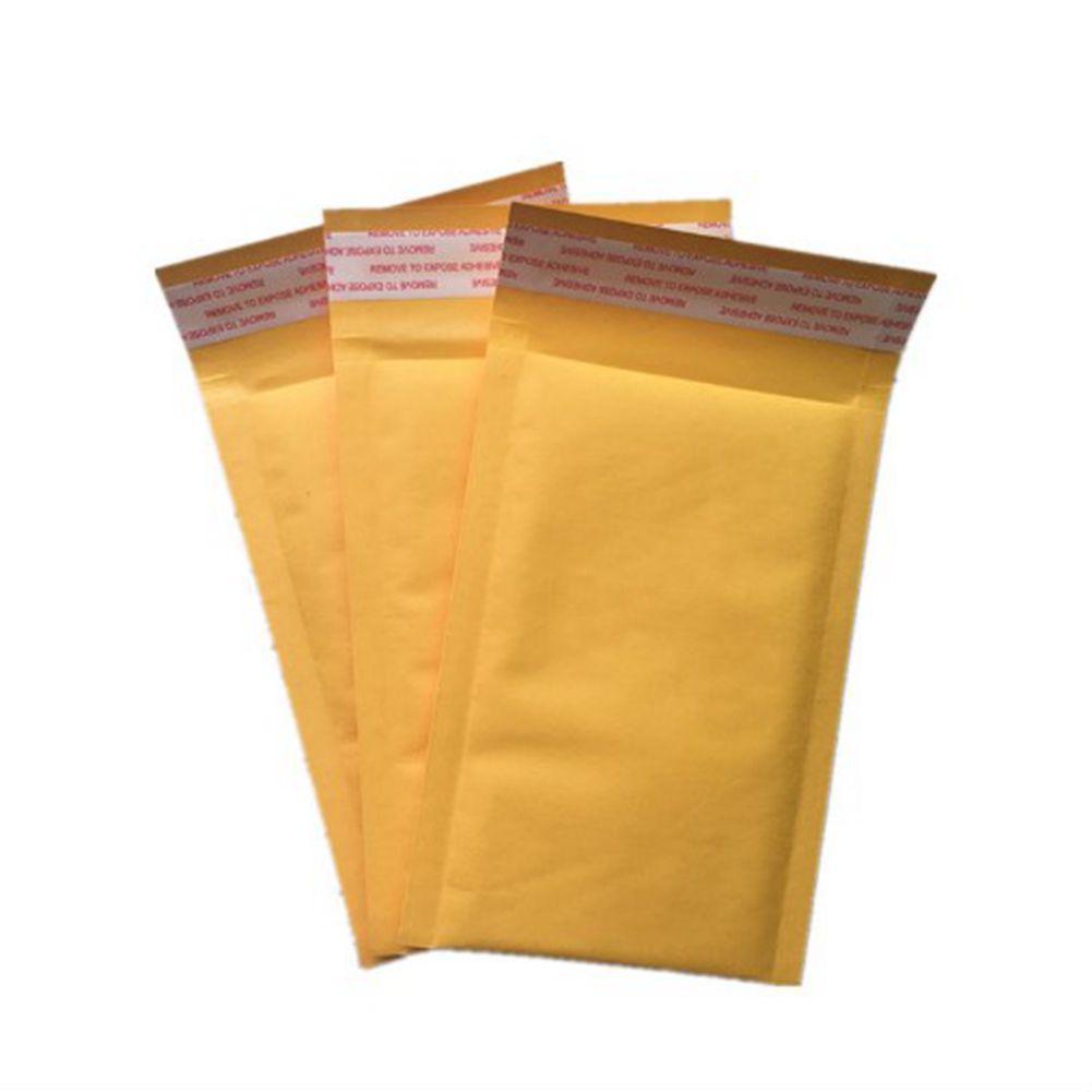 11 * 13см Kraft Bubble Wrap Конверт Сумки 4,3 * 5,1 дюйма мешочков Упаковка PE Упаковка Мешки Bubble Wrap Демпфирование Bubble Wrap амортизирующие