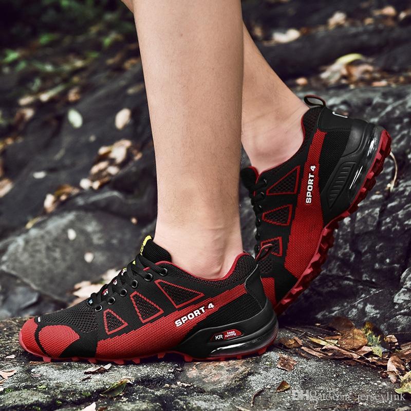 Hommes Athlétique Randonnée Adulte Sport En Plein Air Respirant Automne Eté Entraîneur Speedcross 3 Sport Chaussures Original S-lab 4 Baskets # 45031