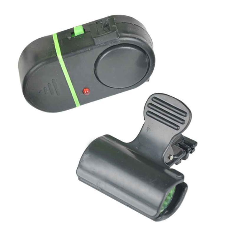 Smart LED Lighting Bite portatile ad alta sensibile esterna Pratica elettronica impermeabile suono allarme Pesca