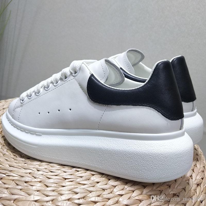 2019A3 новая мужская мода повседневная спортивная обувь Женская модная спортивная обувь Увеличенная обувь на платформе Стильный и удобный размер: 35-45