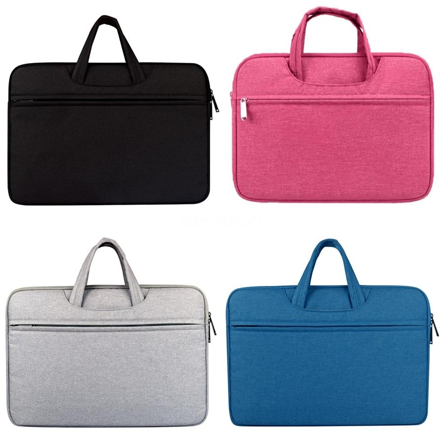 Компьютерные сумки 13,3 14 15,6-дюймовый портативный компьютер сумка портфель сумка для Huawei Dell Asus Lenovo Acer Macbook сумка # 535