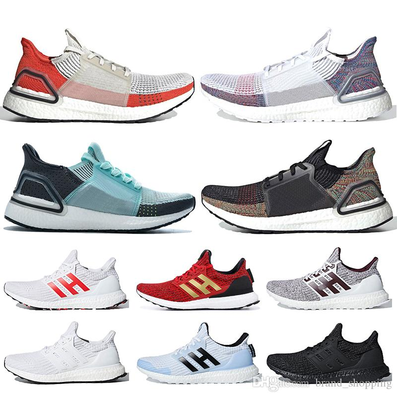 Top Quality Ultraboost 19 running shoes for men women UltraBoost 4.0 triple white black red trainers sneakers 36-47