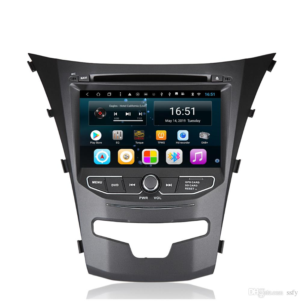 Android 7inch 8-core for Ssangyong new korando Car Multimedia Player Excellent Bluetooth Steering WheBluetooth GPS Navigation Wifi Head Unit