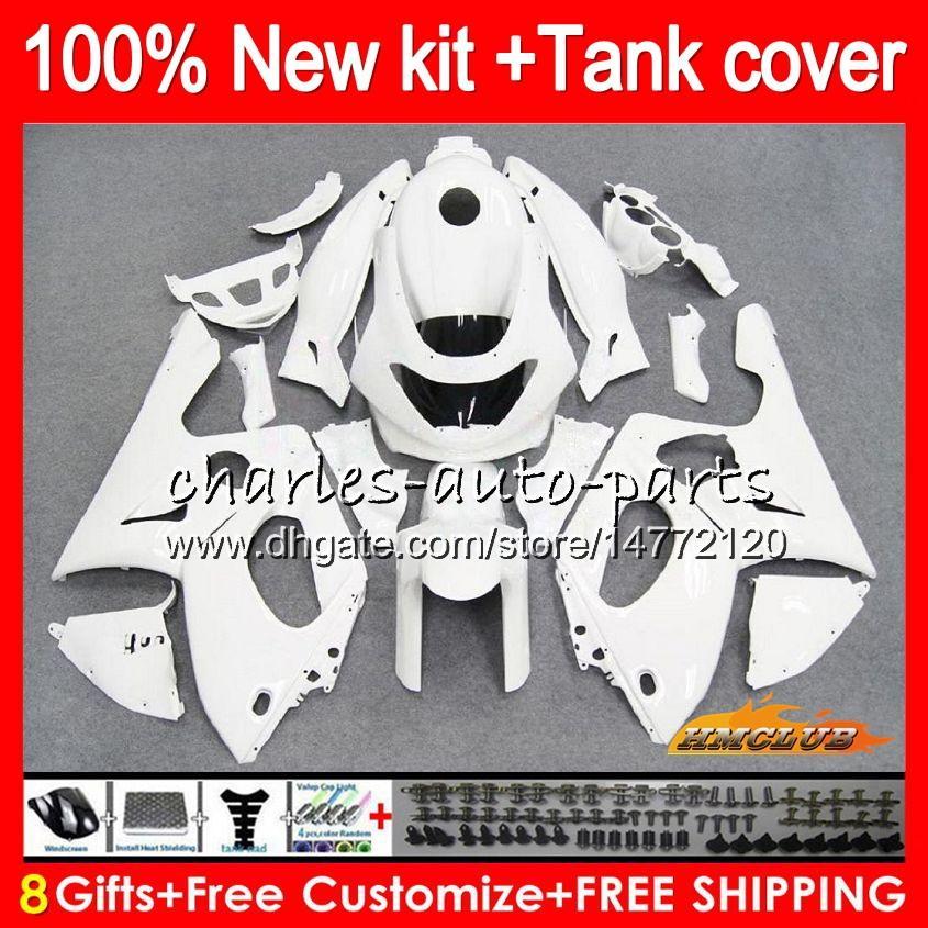 Body For YAMAHA YZF-600R CC YZF600R gloss white Thundercat 72NO.28 YZF 600R 96 97 98 99 00 01 02 1996 1997 1998 1999 2000 2001 2002 Fairing