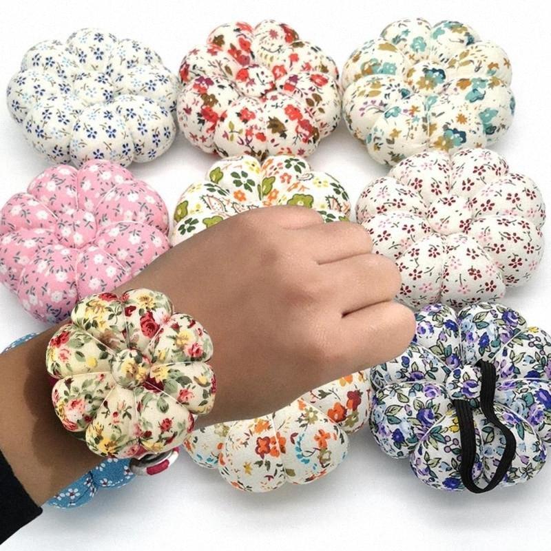 1Pc Pin Cuscini handcraft DIY Strumento Per Punto Croce cucire Tailor Needlework Strumenti Zucca cuscini con Elastic Wrist Band IIDN #