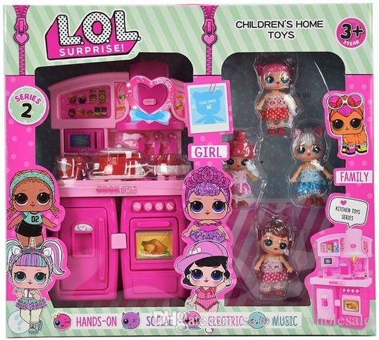خزانة سلسلة pvc kawaii جميل الأطفال اللعب أنيمي عمل أرقام واقعية reborn الدمى هدية تلعب منزل لعبة منزل