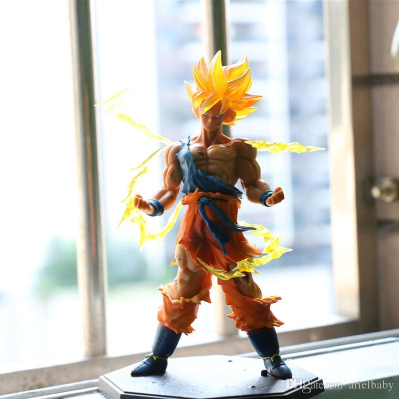 New Dragon Ball Z Super Saiyan Goku Son Gokou PVC Action Figure 7