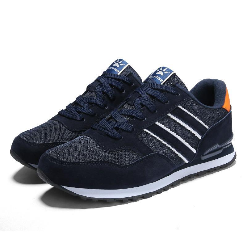 Hakiki Deri Erkek Moda Sneakers Karışık Renkler Sonbahar Kauçuk Erkek Rahat Ayakkabılar Ter Emici Nefes Ayakkabı