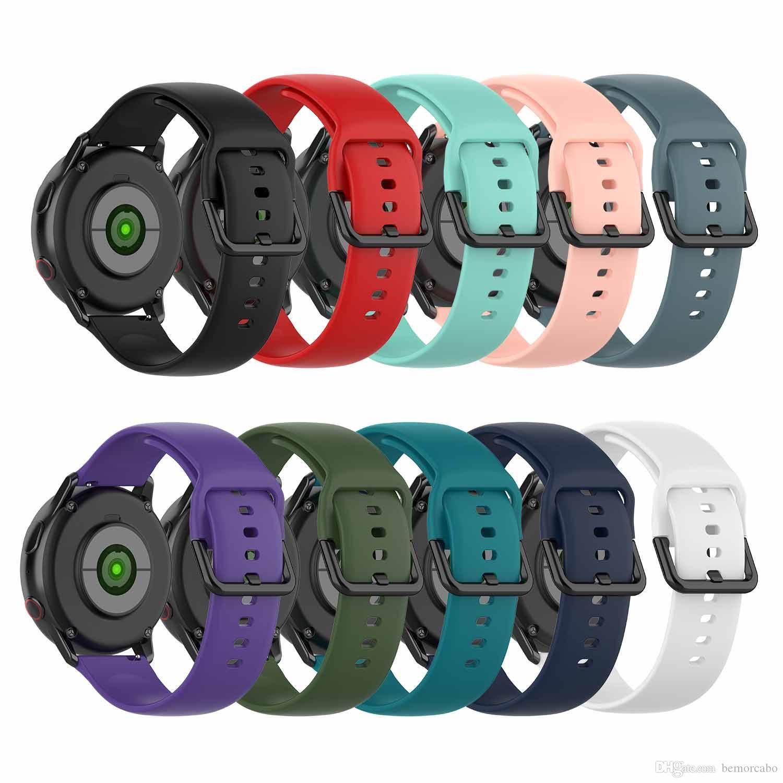 Banda de fitness para Garmin Vivomove / HR / Garmin Vivoactive 3 Smartwatch 20mm Ancho Correa de silicona para Huami Amazfit Bip / GTR 42m S Tamaño