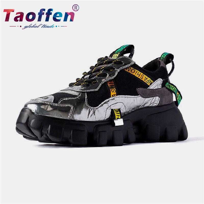 TAOFFEN Childs Comfortable Sports Shoes Breathable