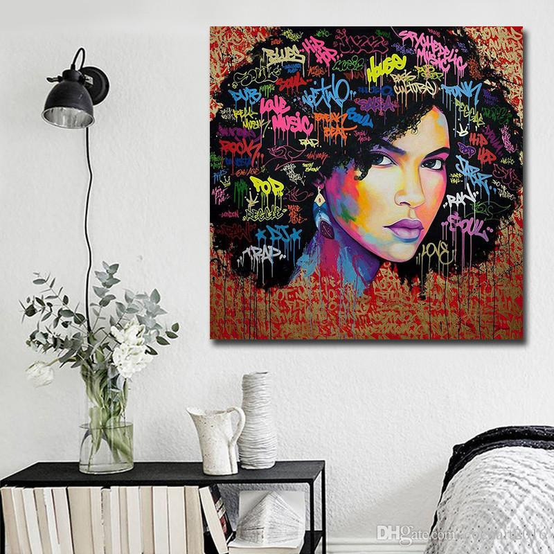 2019 Africa Art Poster And Prints Modern Abstract Decoration Wall Paintings  Canvas Art Printing Bedroom Decorative Pictures No Framed From ...