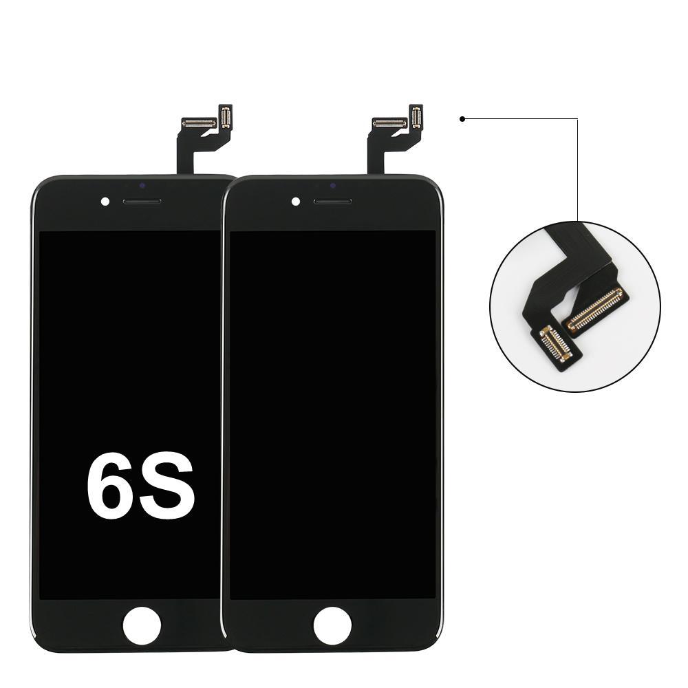 """الهاتف الخليوي قطع الغيار شاشات الكريستال السائل تعمل باللمس مع التجمع من أجل فون 6S لوحة استبدال شاشات الكريستال السائل تعمل باللمس الزجاج جزء استبدال 4.7 """"الشاشة"""