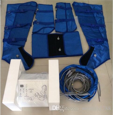 uso del salone apparecchiatura portatile di drenaggio linfatico massaggio sottile pressione d'aria macchina drenaggio linfatico