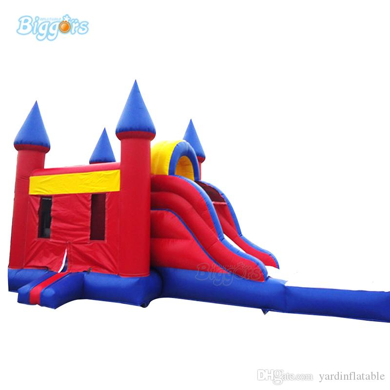 Easy Operate Inflatable Bouncy Castle Bouncy Castle Jumping Pool Combo