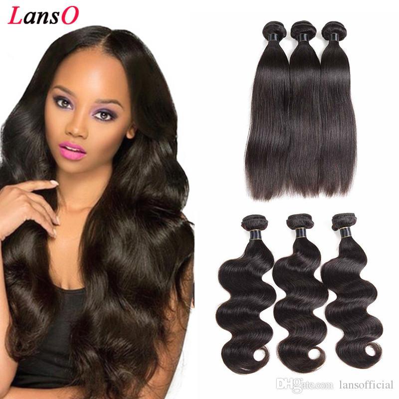 Pérou vague de corps Cheveux beaucoup de Tissages 100 g / pc Non traité de cheveux humains Weave dames Extensions Trame droite eau en vrac vague profonde