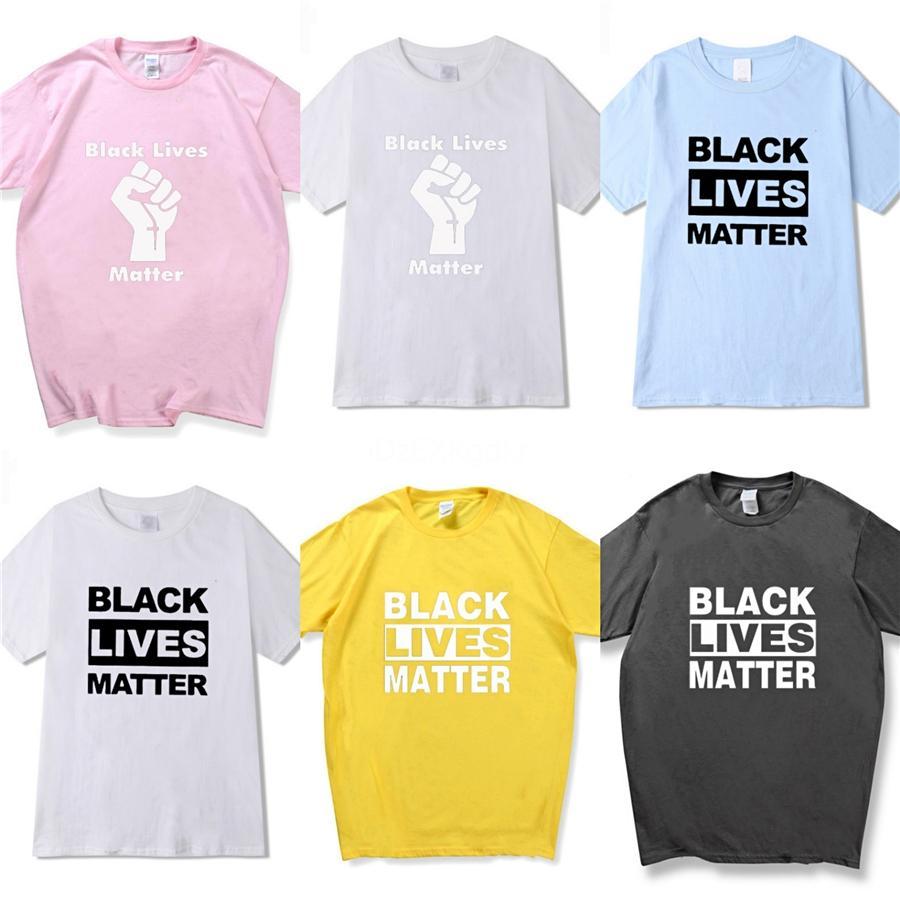 أنا غير قادر على التنفس! مصمم رجالي تي شيرت تيز فاخر رسائل مطبوعة التطريز عارضة قمصان الرجال أزياء العلامة التجارية الرجال T Shirt أعلى الملابس سي # 88