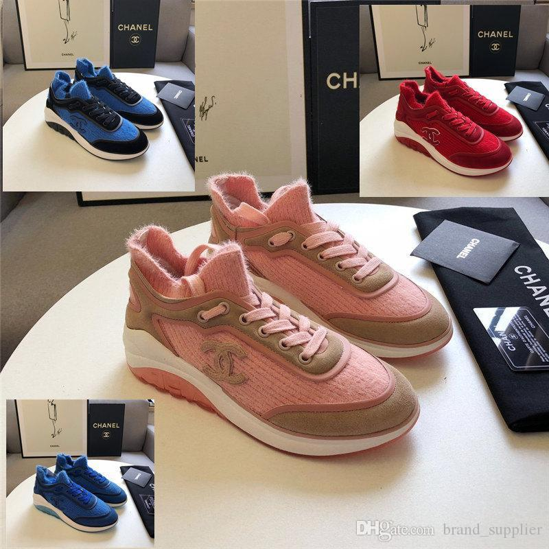 2020 2020 New Luxury Fashion Designer Sneakers Platform Vintage High Quality Women Casual Shoes Shoes Scok Wool Suede Upper 35 41 From Brand Supplier 108 55 Dhgate Com