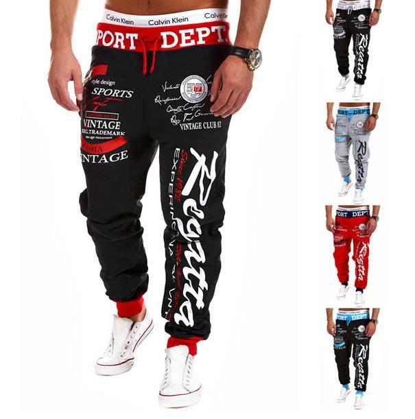 Lettre Designer Mode Hommes Pantalons de haute qualité de marque Sweatpants 2020 Sport Pants Nouvelle ArrivéeAccueil Gym 5 couleurs Top Hot Vendre
