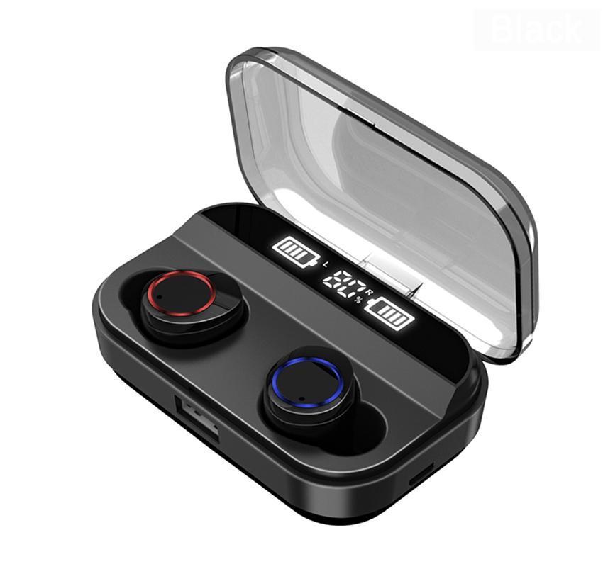 X11 TWS Sport Earbuds IPX7 Waterproof X6 Upgrade Bluetooth Headphone Wireless Earphones 4000mAh Charger Bin for IOS Android Xiaomi 1pcs