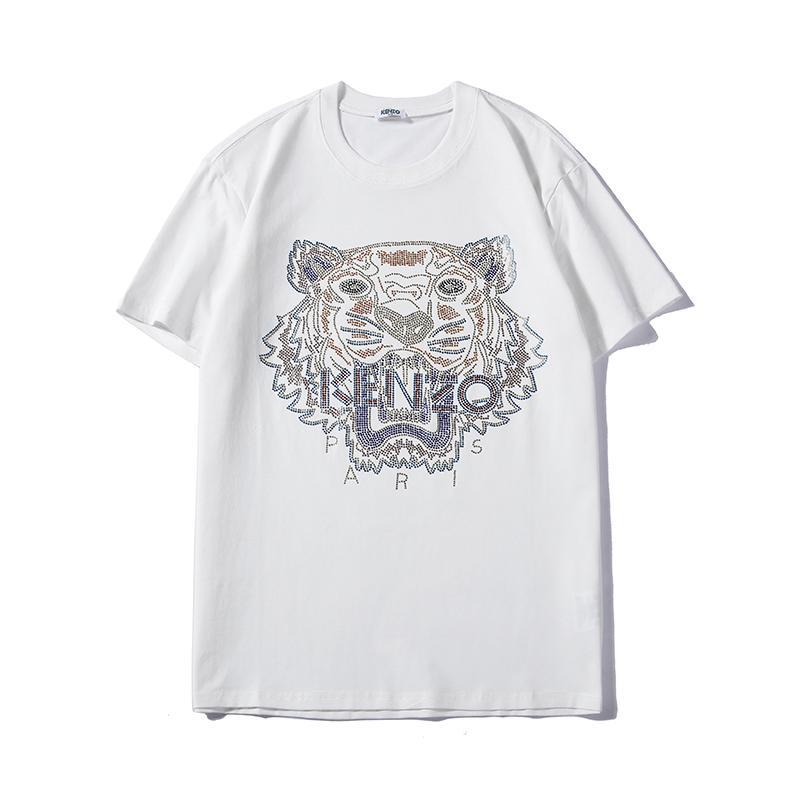 Klassische Herren Brandshirts designer Luxus Tiger Herren Damen-T-Shirts Sommer-T-Shirts mit kurzen Ärmeln Mode Hoodie Sweatshirts PLM B105554L