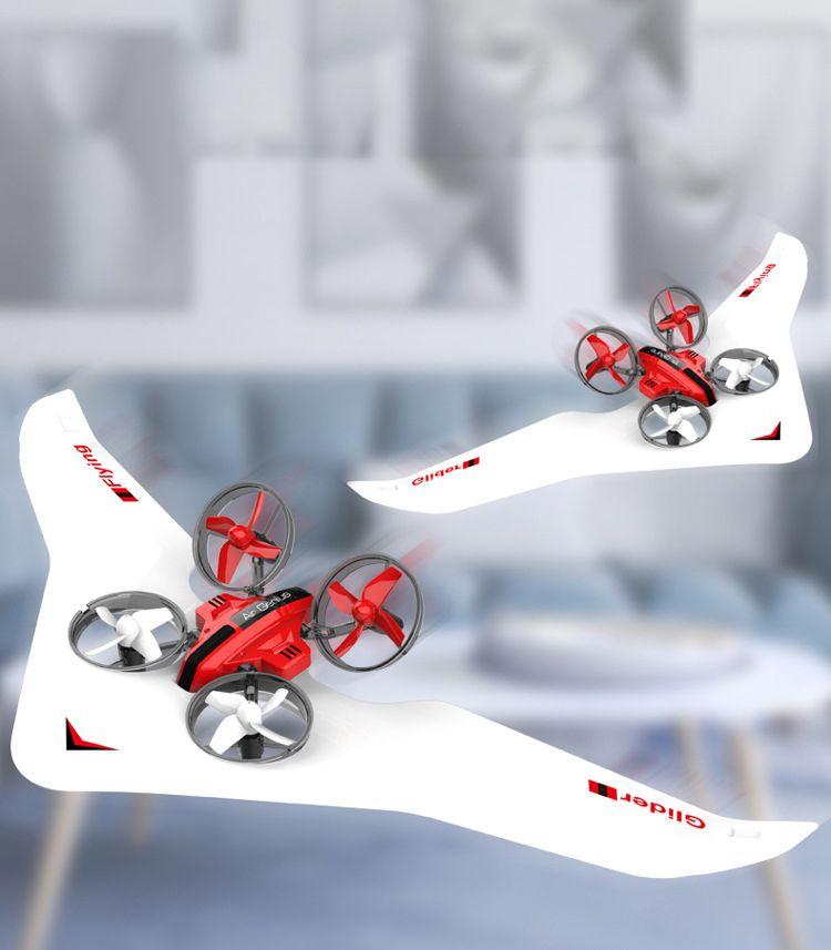 diy 3 في ألعاب طائرة RC واحدة، طائرة شراعية، طائرة بدون طيار كوادكوبتر، الحوامات، ثلاثة أوضاع البحر، الأرض والهواء، الانجراف بارد، هدايا عيد الميلاد عيد الميلاد، استخدام
