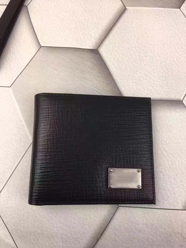 Im Besten Verkauf! Art und Weise neues High-End-Leder kurze Brieftasche klassische Visitenkarte Paket handgemachte Auto Linie Trend für Männer und Frauen