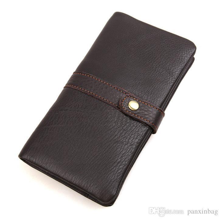2019 средний и длинный кожаный бумажник
