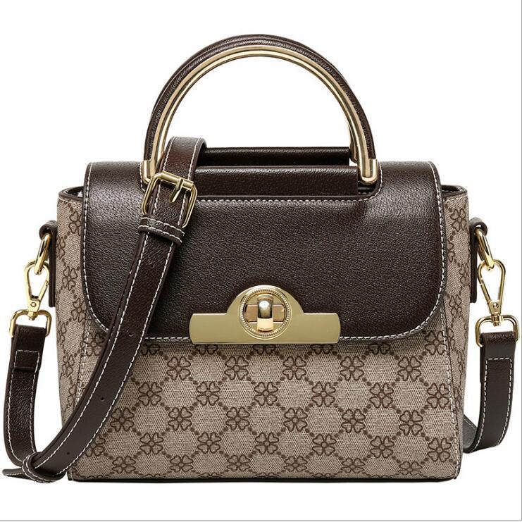 Moda Cuoio di alta qualità nuova 2020 di lusso del progettista di Vintage Donne Donne Borse Shoulder Bag Messenger