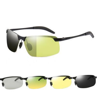 اتجاهات الموضة الجديدة الاستقطاب تغيير لون ليلا ونهارا نظارات شمسية للرجال نظارات شمسية الرياضة في الهواء الطلق ركوب الدراجات للرجال نظارات شمسية نسائية