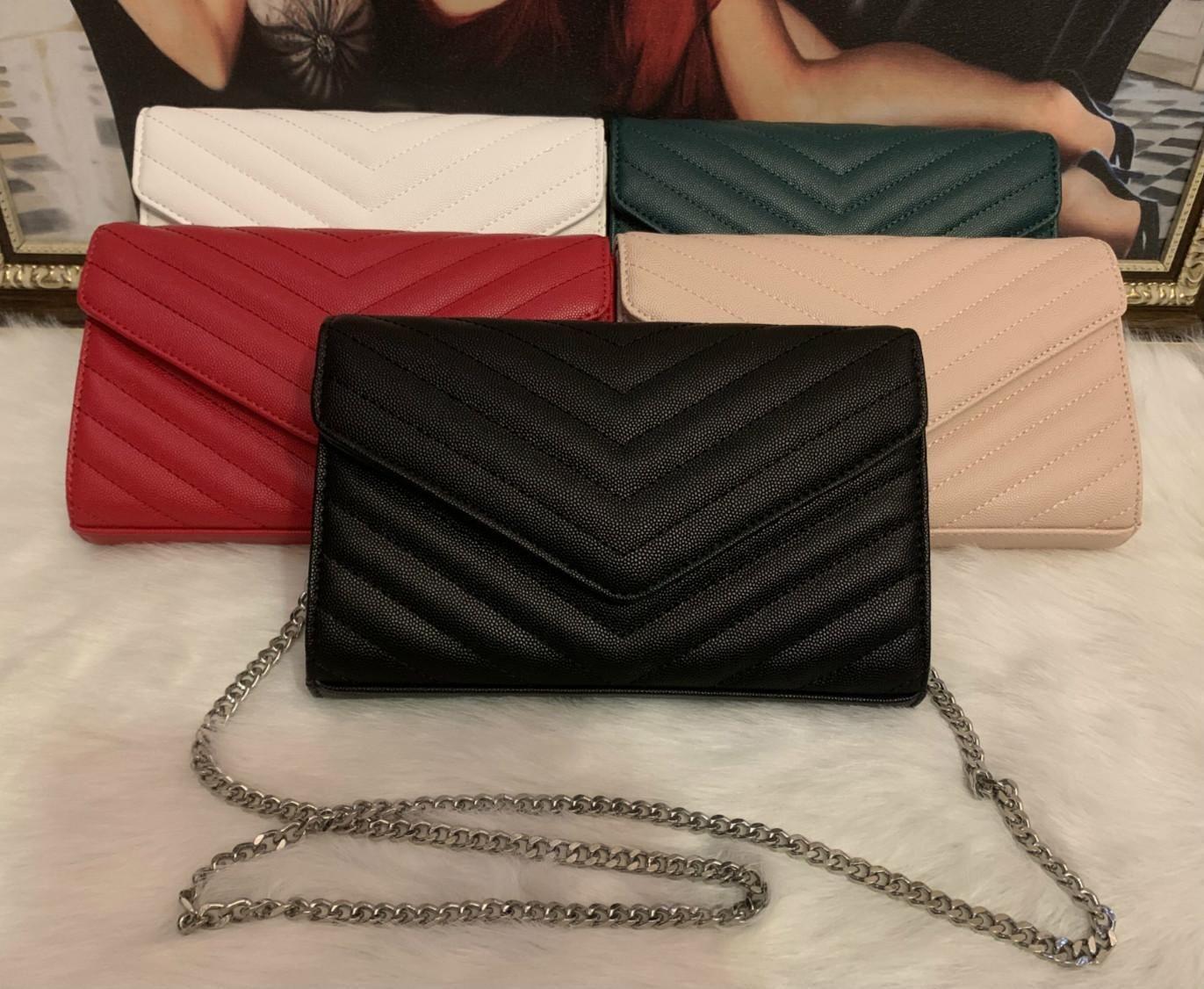 Designer-Sacs à main or argent métal chaîne caviar peau de mouton véritable sac à main Designer sac en cuir Couvercle de protection amovible en diagonale Sacs à bandoulière avec BOX1