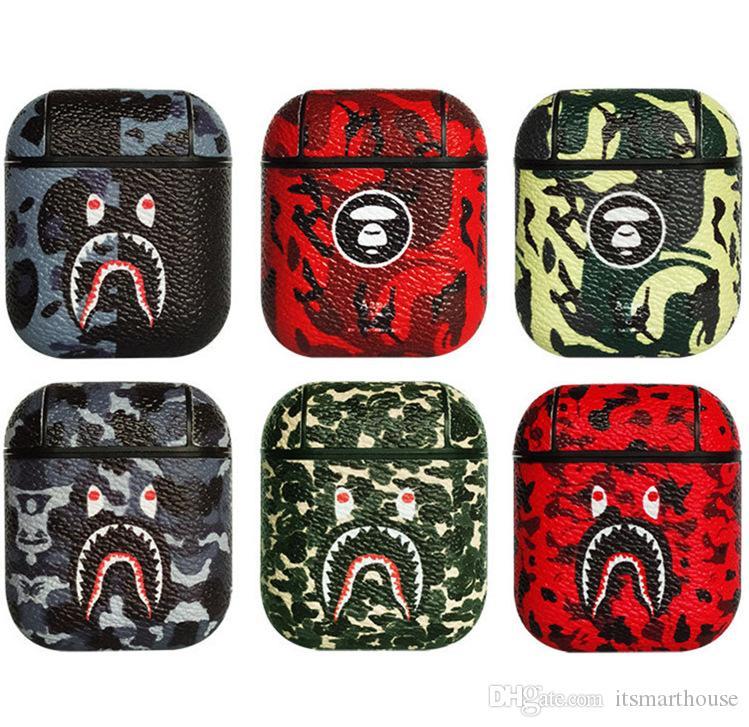 Un singe Ecouteur cas pour Airpods1 2 Hard Cases Six couleurs Accessoires écouteurs Protector Mode Vintage
