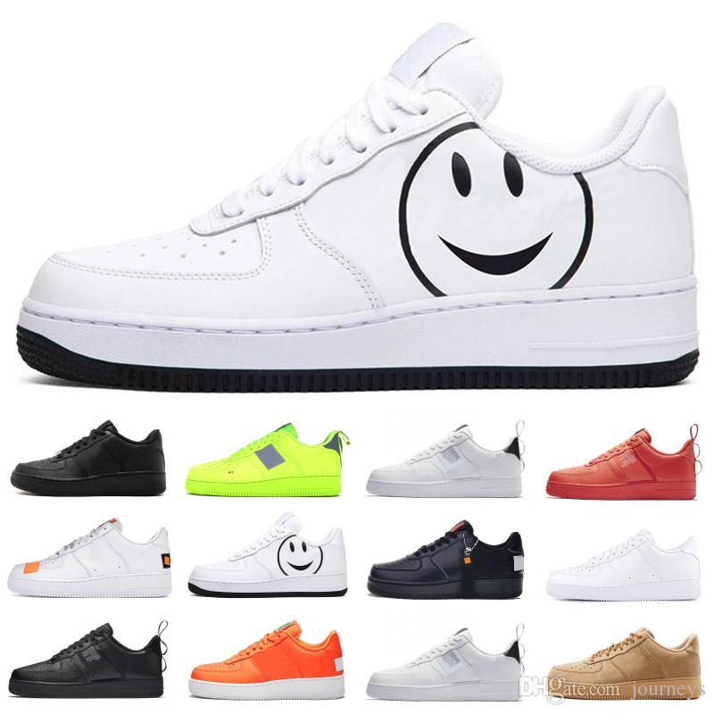 Полезность Черного Белого Volt 1 Кроссовки Просто обновление Оранжевое замочить Мужчина Женской обувь 1S ЛЕНА-стрит Skate Тренеры Спорт Sneaker