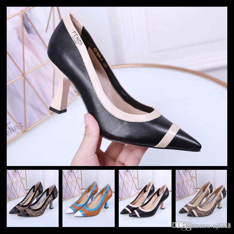 Newst Designers Donna button button tacco medio Dress Shoes Scarpe da sposa in pelle brillante con tacco alto con plateau e scarpe eleganti in pelle