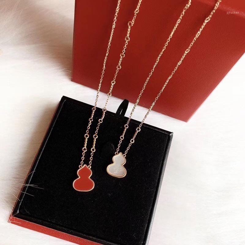 Collana zucca collana in argento 925 per High monili delle donne del regalo della festa di Natale Grande Twist chain1