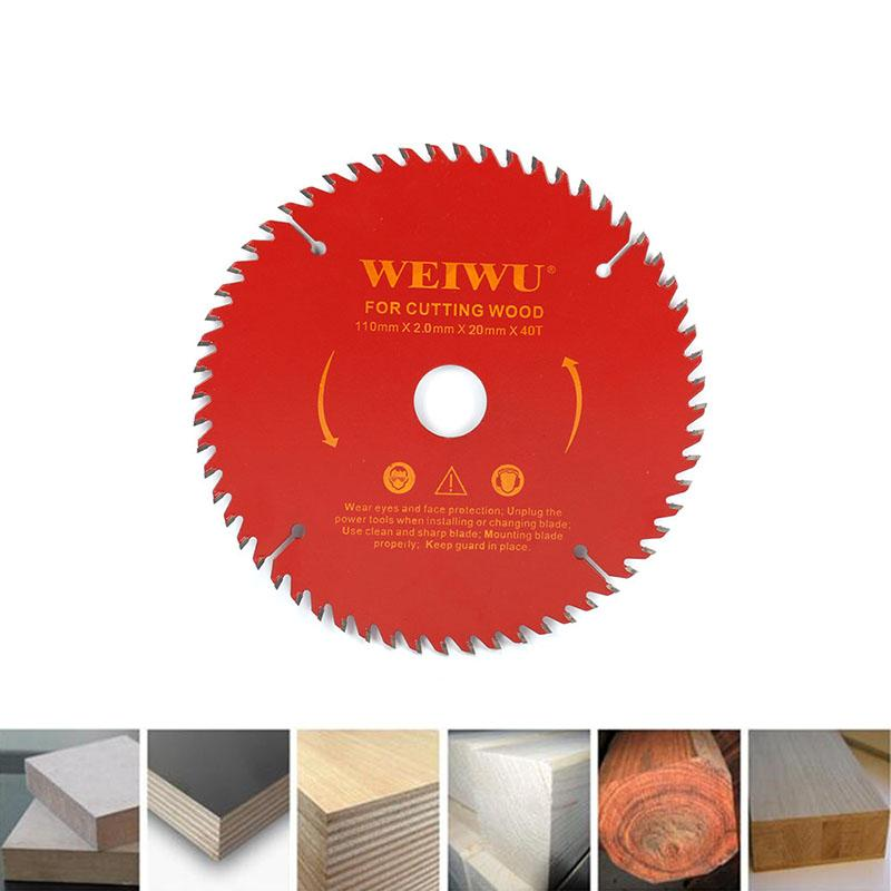 110mm 30T/40T Carbide Circular Saw Blade For Wood Cutting Woodworking Cutter Tool
