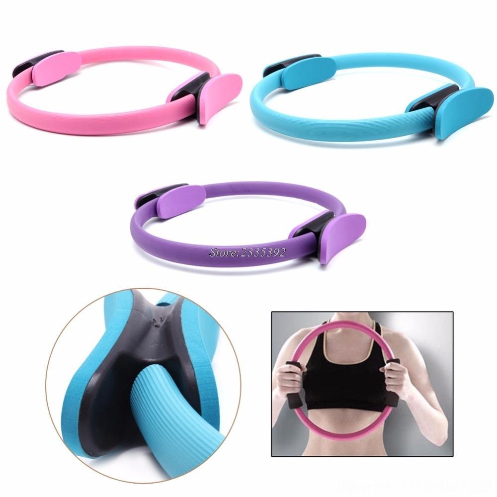New Grip double Pilates Magic Ring Cercle Supplies Les muscles du corps exercice nouvel outil à manche Pilates Magic Ring Cercle Yoga Fournitures de remise en forme Mu