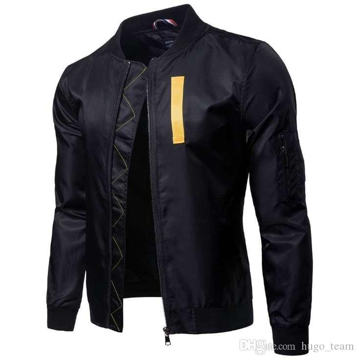 Весна Осень Жакеты мужчины бейсбольной куртки мужские пальто зима осень человек Streetwear Одежда Теплая одежда для мужчин New