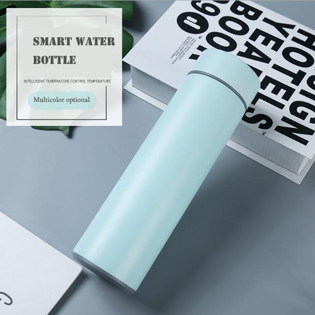 CHINA 2020 نوي الفولاذ المقاوم للصدأ 304 فراغ العزل زجاجة المياه الذكية مع درجة الحرارة التي يقودها الرياضة قارورة