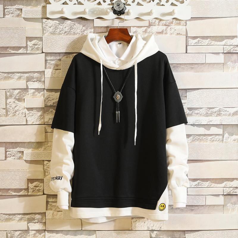 Mode Voll Sweatshirt beiläufige Farbe Mantel-Jacke mit Kapuze Männer Corta Polyester Vento Corinthians Weiß Aus Guccy CHAMPIONS 4SWO