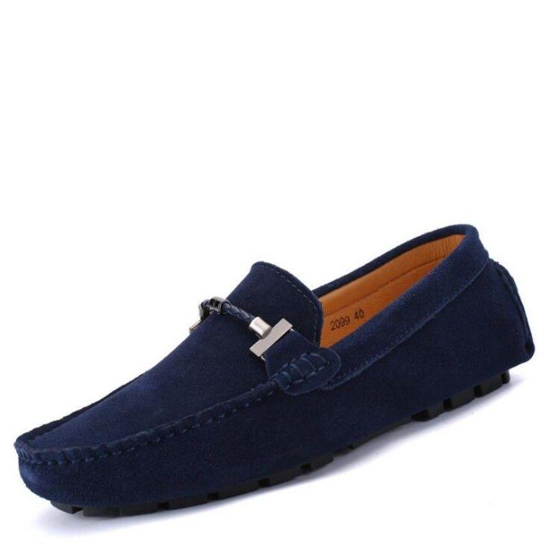 ganado scarpe firmate ante de los zapatos casuales, todo el cuero sin cordón de gran tamaño del zapato informal suelas blandas diseñador de zapatos transpirables w16