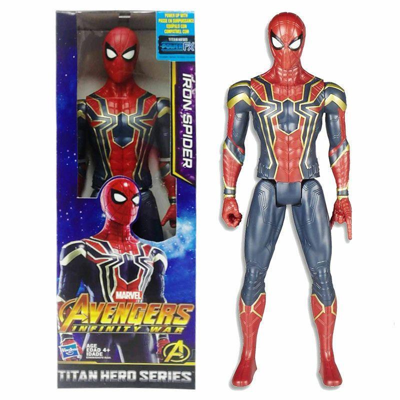 NEW Marvel Avenger 12-inch Titan Hero Power FX Spider-Man Kids Birthday Gift