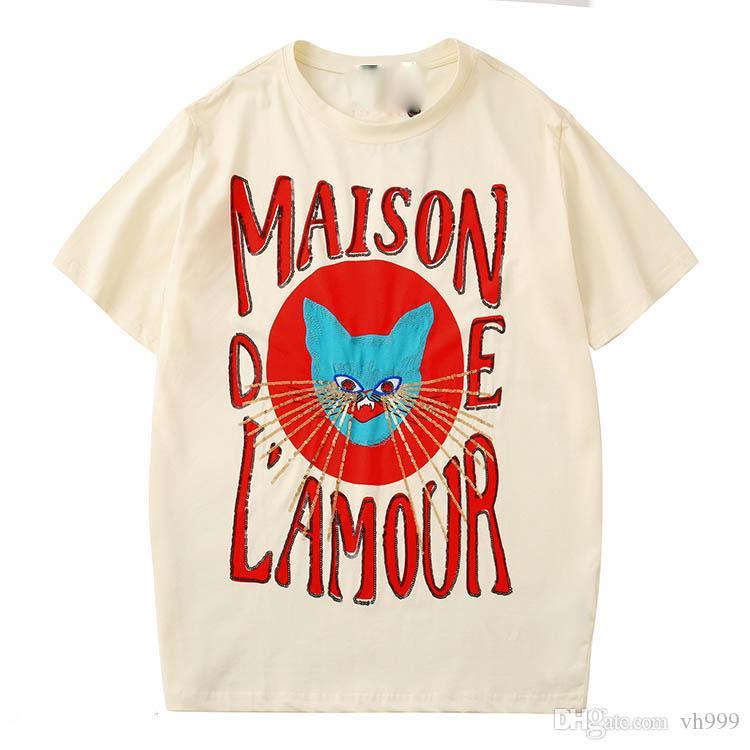 Primavera de luxo T-shirt italiano T-shirt do projeto da camisa de polo marca de rua roupas liga bordados abelha impressão dos homens Polo