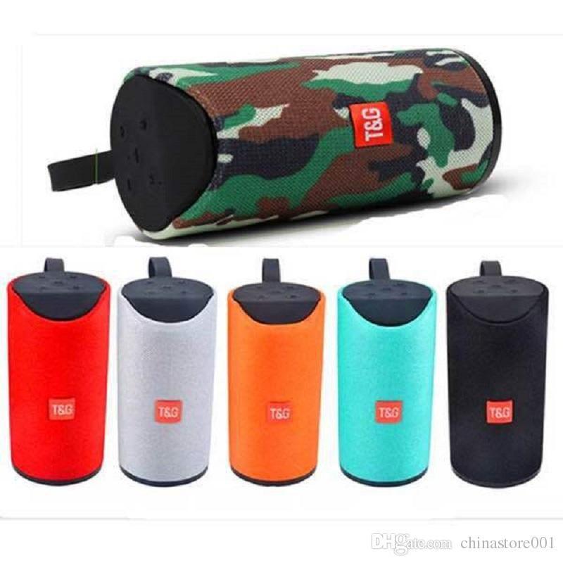 TG113 Bluetooth Speaker FM Radio TF USB AUX Play Cheap Portable Wireless HIFI MP3 Outdoor Speaker Big Sound High Quality
